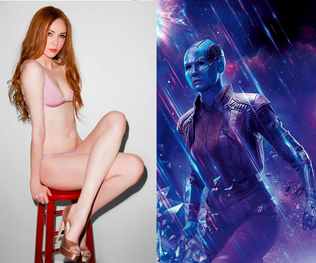 Sexy Karen Gillan, Nebula Avengers Endgame
